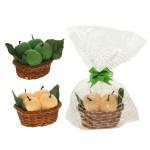 Полотенце декоративное Яблоки в корзине