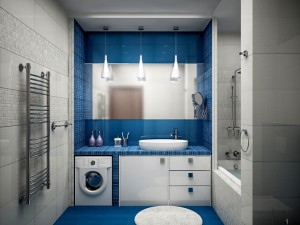 синяя плитка
