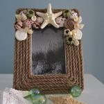 Декорируем раму или зеркало с помощью глины