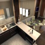 Объединяем зал и кухню